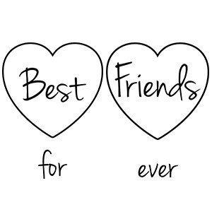 Best friends shirts Best friends for ever