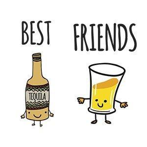 Friends hoodie Tequila