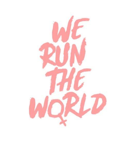Women shirts We run the world