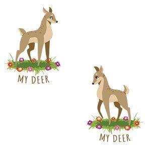 Same sex graphic tees My deer