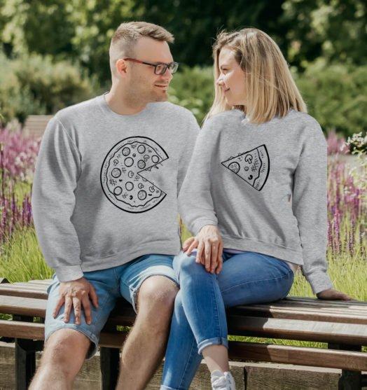 Couple sweatshirts Best pizza couple