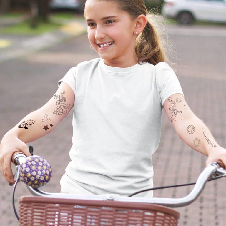 Temporary tattoo Astronaut