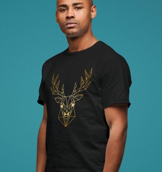 Men graphic tees Golden Deer