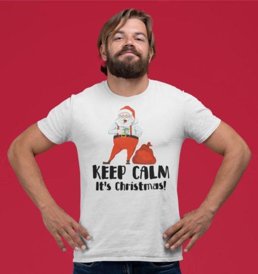 Men graphic tees Keep Calm