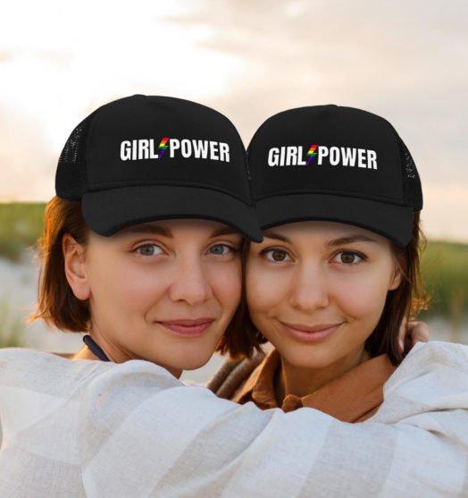 Same sex caps jersey Girls power