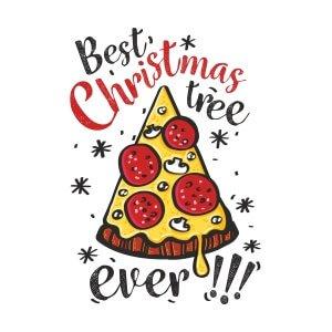 Men graphic tees Christmas tree