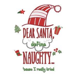 Mens graphic tees Dear Santa