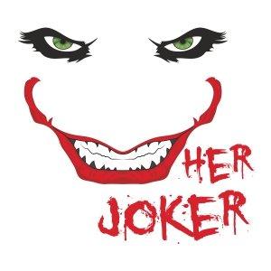 Men graphic tees Her joker