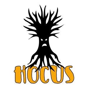 Short sleeve women t shirts Hocus