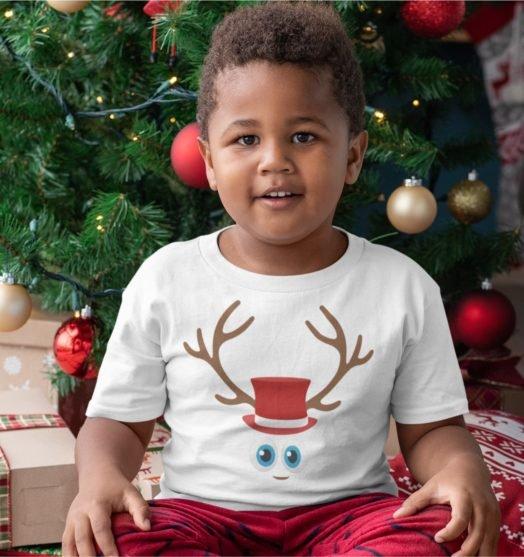 Short sleeve kids Christmas t shirts Christmas Boy