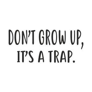unisex snap five graphic cap Trap