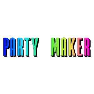 unisex snap five graphic cap Party maker