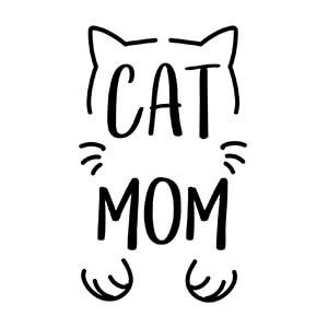 women graphic cap Cat mom