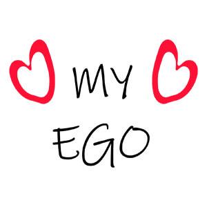 women graphic cap My ego