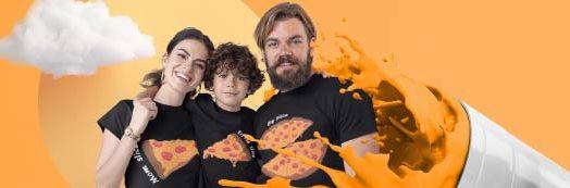 T-Shirts für die Familie