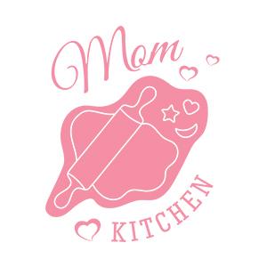 Graphic design for women apron Moms kitchen